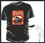 KOOLART PETROLHEAD SPEED SHOP LANDROVER DEFENDER 90 mens or ladyfit t-shirt